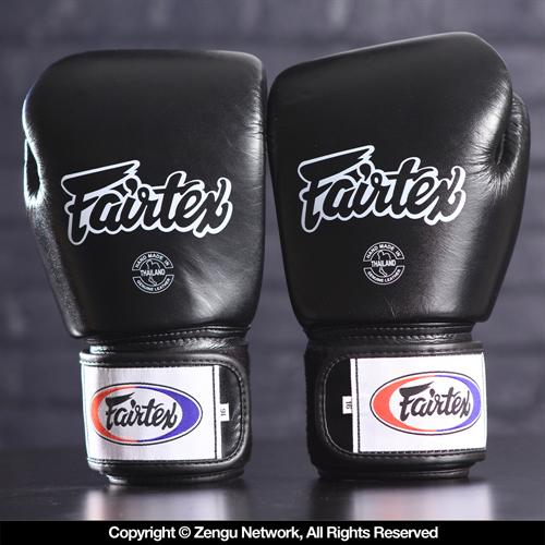 Fairtex Fairtex BGV1 Breathable Muay Thai Gloves - Black